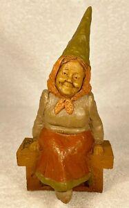 ELIZABETH-R 1984~Tom Clark Gnome~Cairn #1017~Ed #54~Hand Signed~w/COA & Story