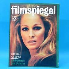 DDR Filmspiegel 9/1981 Paul Hörbiger Ursula Andress Erwin Geschonneck Lubosch W