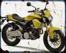 DERBI MULHACEN 659 X visión A4 Metal Sign moto antigua añejada De