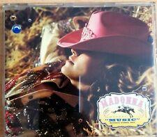 Madonna - Music CD single 7 trk + CD rom component Australia
