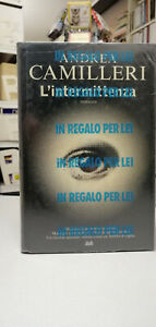 L'INTERMITTENZA, Andrea Camilleri, Mondolibri, NUOVO BLISTERATO!