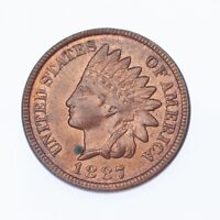 1887 1C Indian Head Cent BU Condition, Red/Brown Color, Excellent Eye Appeal!