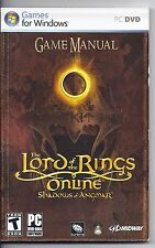 Lord of The Rings Online - Shadows of Angmar Game Manual