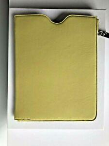 MAISON MARGIELA SS14 Yellow Leather Ipad Tablet Case NIB!