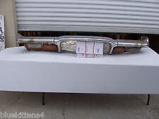 1960 CHEVY BEL AIR FRONT BUMPER RUST BAD CHROME 4 DOOR SEDAN OEM USED CHEVROLET