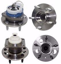 Wheel Hub & Bearing Front & Rear Kit Set of 4 for Buick Chevrolet Olds Pontiac