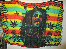 Sarong Bob Marley Rasta Monarch Lion Beach Wrap Tapestry Red Yellow Green New G