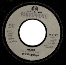 PET SHOP BOYS Heart Vinyl Record 7 Inch Parlophone R 6177 1988