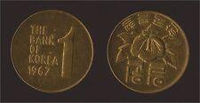 KOREA SUD COREA 1 WON 1967