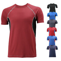 Men's Sport Quick-Dry Gym Workout  Running Breathable Cool Performance T-shirt