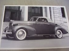 1937 OLDSMOBILE CONVERTIBLE  12 X 18 LARGE PICTURE  PHOTO