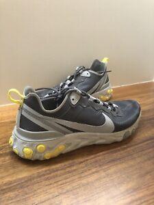 Nike React Element 55 Grey/Yellow