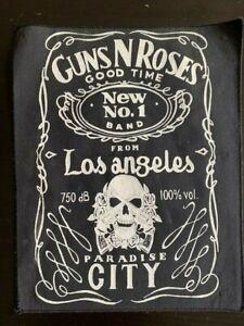 GUNS 'N ROSES PARADISE CITY JACK DANIESL STILE VINTAGE BACK PATCH VERY RARE!!!