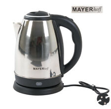 Wasserkocher Edelstahl 2L Teekocher kabellos 360 drehbar 1,5KW schnurlos Kaffee