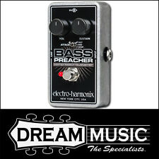 Electro Harmonix EHX Bass Preacher Compressor/Sustainer Effects FX Pedal RRP$229