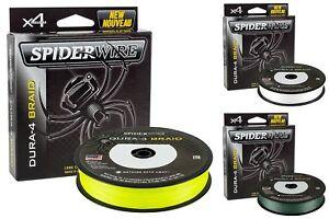 SpiderWire Dura 4 Braid - 150m/300m Spule (5,33€/100m) geflochtene Schnur