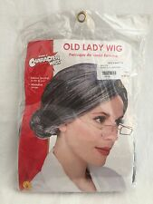 Old Lady Wig Rubie's costume gray granny