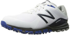 New Balance Minimus White/Blue Spikeless Golf Shoes White/Blue 13 Wide