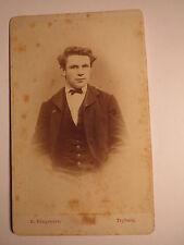 Tryberg / Triberg - 1871 - Josef Thoma als junger Mann - Portrait / CDV