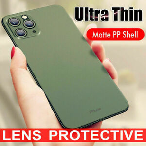 For iPhone 11 Pro Max XS XR 8 SE 2020 Ultra Thin Case Cover Matte Slim Hard Skin