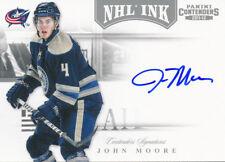 2011/12 Panini Contenders #13 John Moore NHL Ink Auto Insert HARD SIGNED
