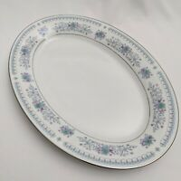 """Crown Ming Harmony 14"""" Oval Platter - Fine China Excellent Condition!"""