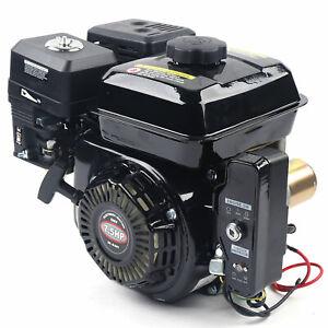 4-Takt 7,5PS Elektrostart Benzinmotor Kartmotor Standmotor Benzin Motor OHV 1Gal