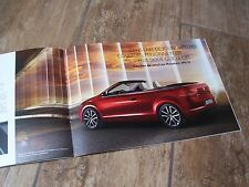 Catalogue / Brochure VOLKSWAGEN Golf Cabriolet 2011 //