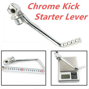 Chrome 16mm Kick Starter Lever Pedal For Kawasaki KE KL KLX KDX KZ 125/175/200