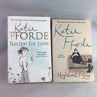 2 Katie Fforde Books - Recipe For Love & Highland Fling - Bundle