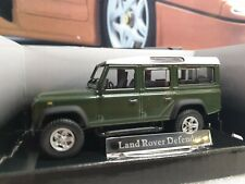 CARARAMA - LAND ROVER DEFENDER 110 -D/ GREEN PAINT - 1/43 SCALE MODEL CAR 250ND