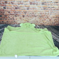 Tiddleiwinks Children Toddler Bath Towel  Elephant Light  Green Age 2+