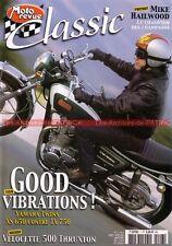 MOTO REVUE CLASSIC  7 YAMAHA XS 650 TX 750 VELOCETTE 500 THRUXTON HONDA NR 500