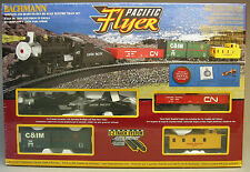 BACHMANN HO PACIFIC FLYER TRAIN SET READY TO RUN atlas steam engine 00692 NEW