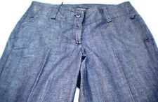 TALBOTS Classic Flare, Cotton Blend Dark Denim Ins. 32 Jeans.  Sz 4. Ret. $79.50