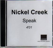 (AM403) Nickel Creek, Speak - DJ CD