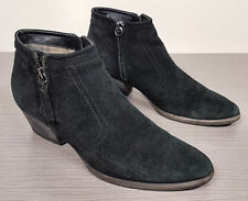 Aquatalia by Marvin K 'Finn' Weatherproof Suede Bootie Black Womens Size 7.5