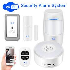 WiFi Security Alarm System Remote Control Door Sensor House Burglar Night Light