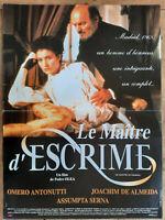 Plakat Le Maitre D'Weidezaunband Pedro Olea Omero Antonutti J.Almeida 40x60cm