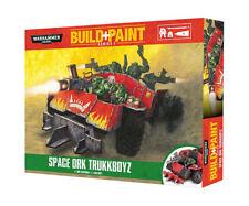 Warhammer 40k Build+Paint Space Ork Trukkboyz NEW