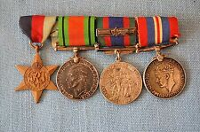 WWII Canadian Medal Grouping