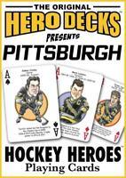 NEW! Pittsburgh Penguins Hockey Heros Original Hero Deck Playing Cards Fan Gift