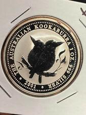 Australia 2001 Kookaburra 1 oz .999 Fine Silver BU X74