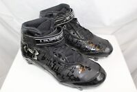 UNDER ARMOUR Size 8.5 mens athletic shoes CLEATS black GREAT CONDITION      WG7