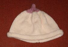 BOOB BEANIE... BREAST BEANIE HAT  .FOR BABY NEW HAND KNITTED SIZE 6-9 month