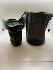 Canon 16-35mm f/2.8 L II USM AF Lens + EW-88 Lens Hood and Lens Bag