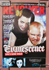 Evanescence Fallen 2003 Revolver Magazine Promo Only Poster Amy Lee Goth Metal