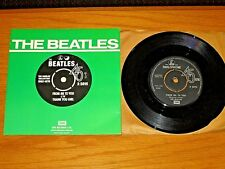 """MONO UK IMPORT BEATLES 45 RPM - PARLOPHONE 5015  """"FROM ME TO YOU/THANK YOU GIRL"""""""