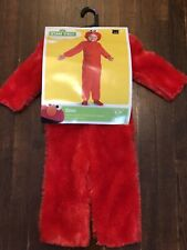 Sesame Street Toddler Size 2T Elmo Costume One Piece - Red