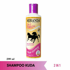 [MIRANDA] Horse 2in1 Human Shampoo Conditioner Smooth Hair Growth Formula 200ml